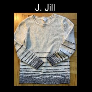 J. Jill Cream S/M Sweater
